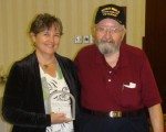 Kathleen and Thomas Goonan, at Campbell Award Ceremony 2008