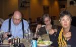 Peter and Susan Straub and Kathleen Goonan