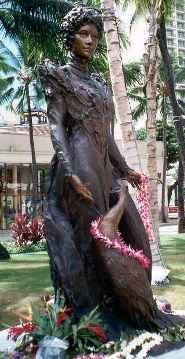 Princess Kaiulani Statue in Honolulu